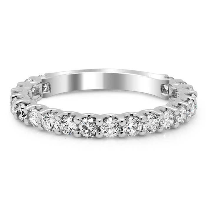 U-Prong Diamond Wedding Ring Diamond Wedding Rings deBebians