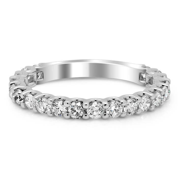 U Prong Diamond Wedding Ring, 1.00cttw Ready-To-Ship deBebians
