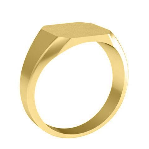 Yellow Gold Signet Ring Signet Rings deBebians
