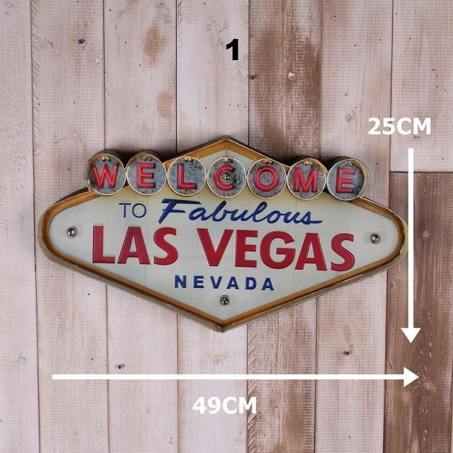 20 Classic Americana LED-Neon Metal Signs