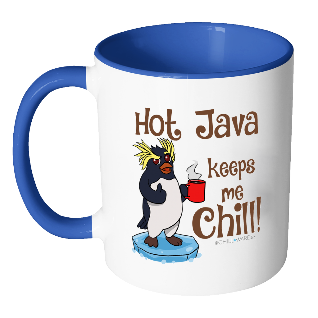 Wild Penquin: 'Hot Java Keeps Me Chill!'