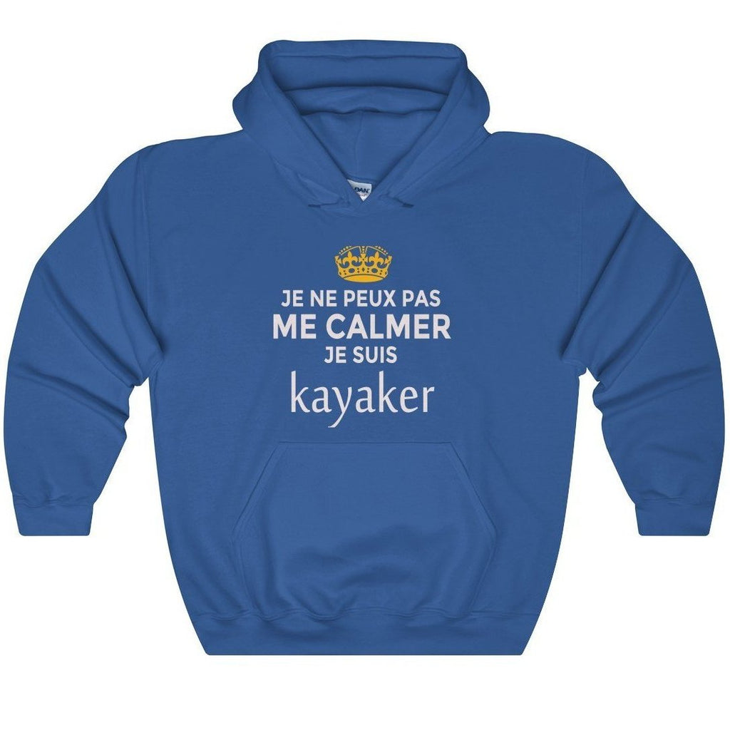 Kayaker, 'Can't Stay Calm !', Unisex Hoodie Sweatshirt