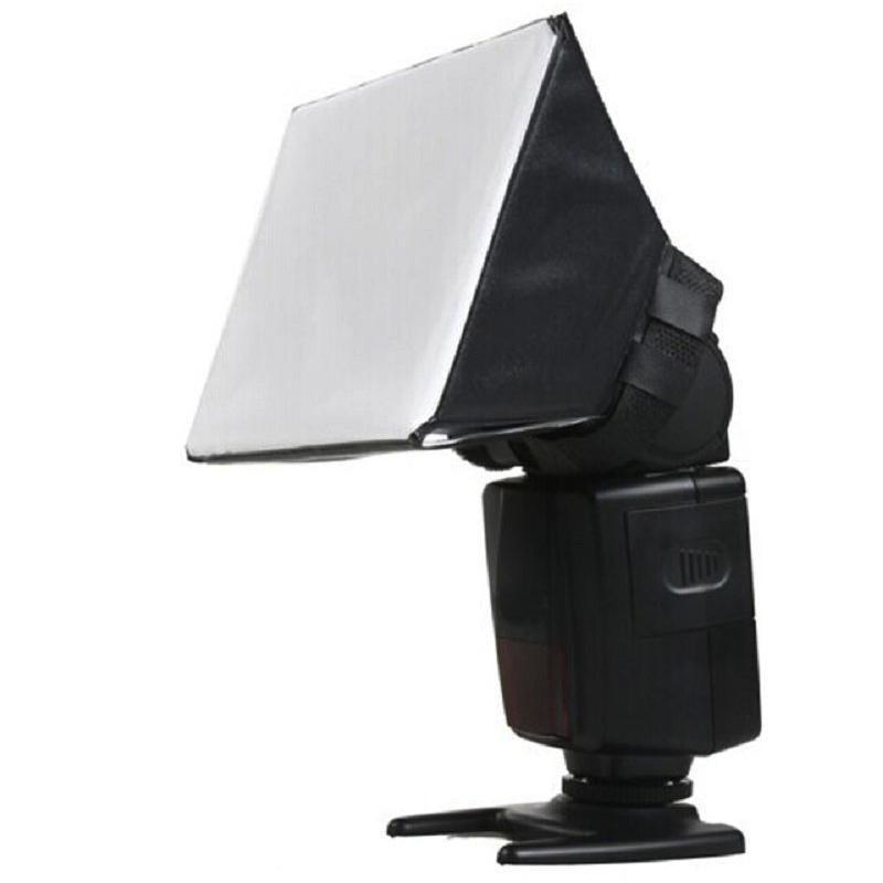 Portable Flash Diffuser For Canon Nikon Cameras