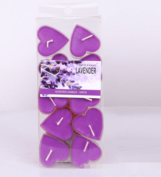 Heart Shaped Scented Soy Candles