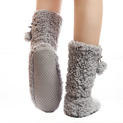 Super Plush Women's Above the Ankle Home Slippers