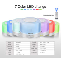 LED Color Change Aromatic Therapy Oil Diffuser