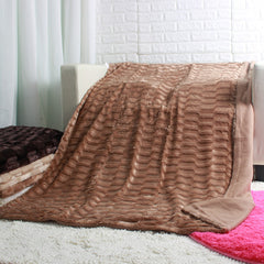Super Soft Faux Fur Bed Cover