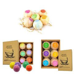 Six Ball Set Essential Oil Bath Bombs