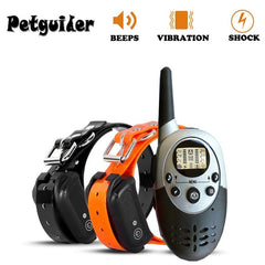 1000M Dog Training Collar, Waterproof, Rechargeable, For One or Two Dogs