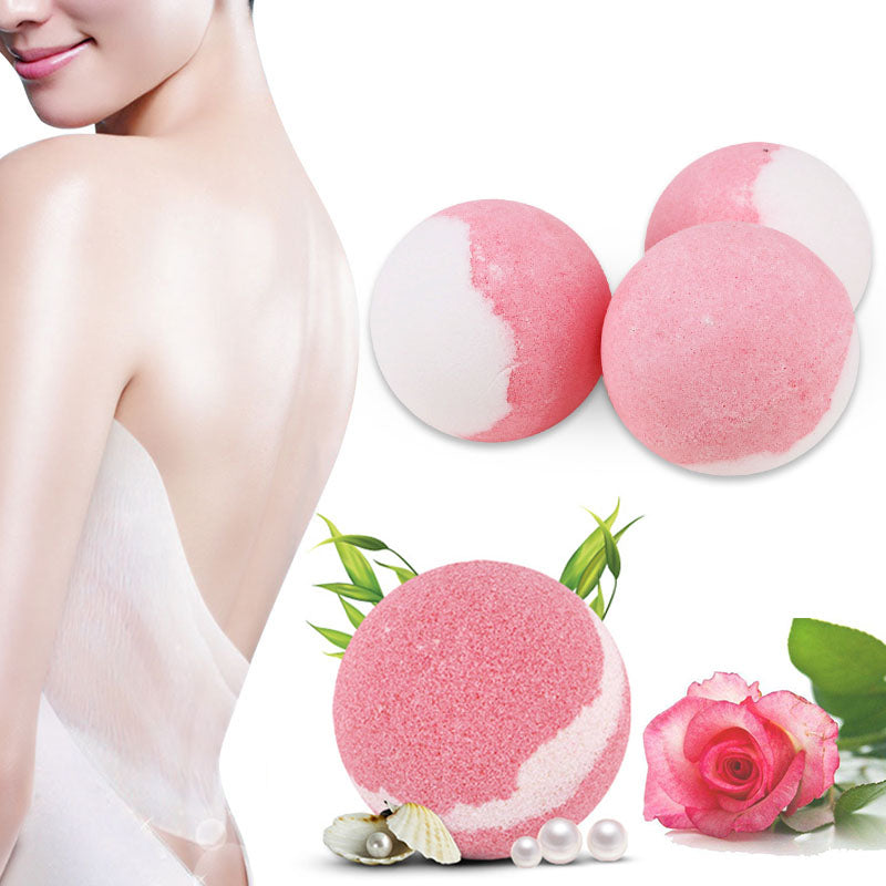 Moisturizing Bubble Bath Bomb for Exfoliating Stress Relief