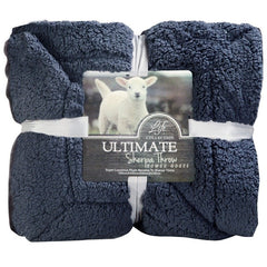 Super Soft Faux Fleece Sherpa Blanket