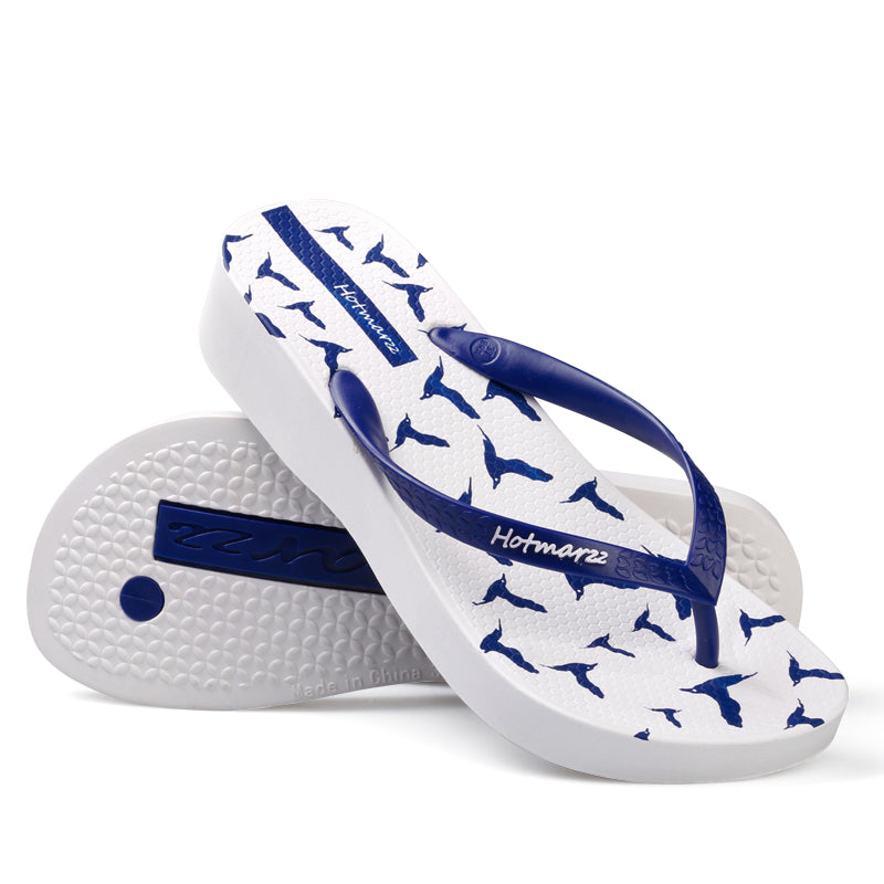 Women's Platform Wedge Seagulls Beach Sandals