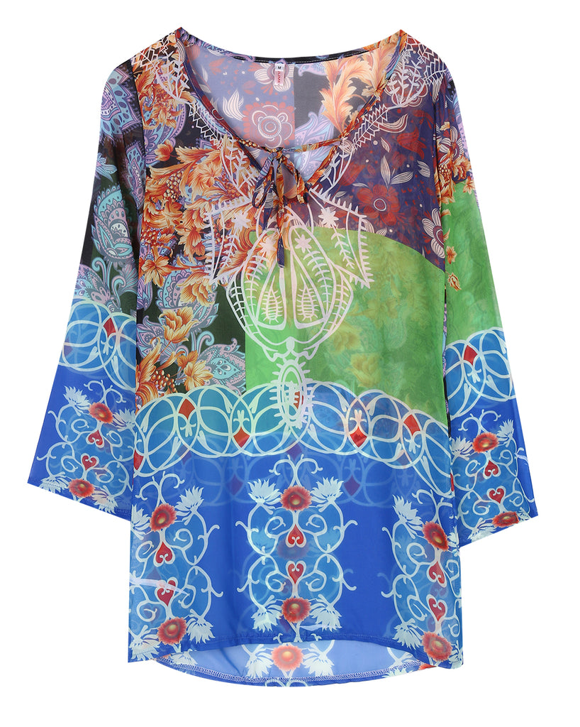 Kasbah Print Women's Swimwear Cover-Up