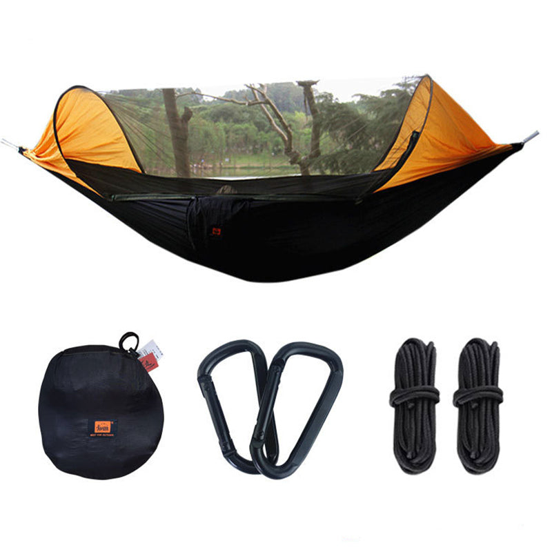 Ultralight Hammock with Mosquito Net, Funnel Canopy