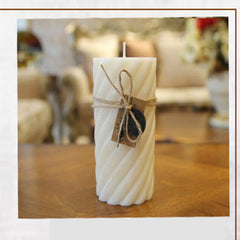 Smoke Free Vanilla Fragrance Candle Essential Oil Decorative Candles