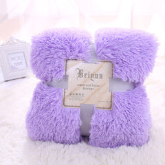 Cozy Fluffy Bed Cover Blanket