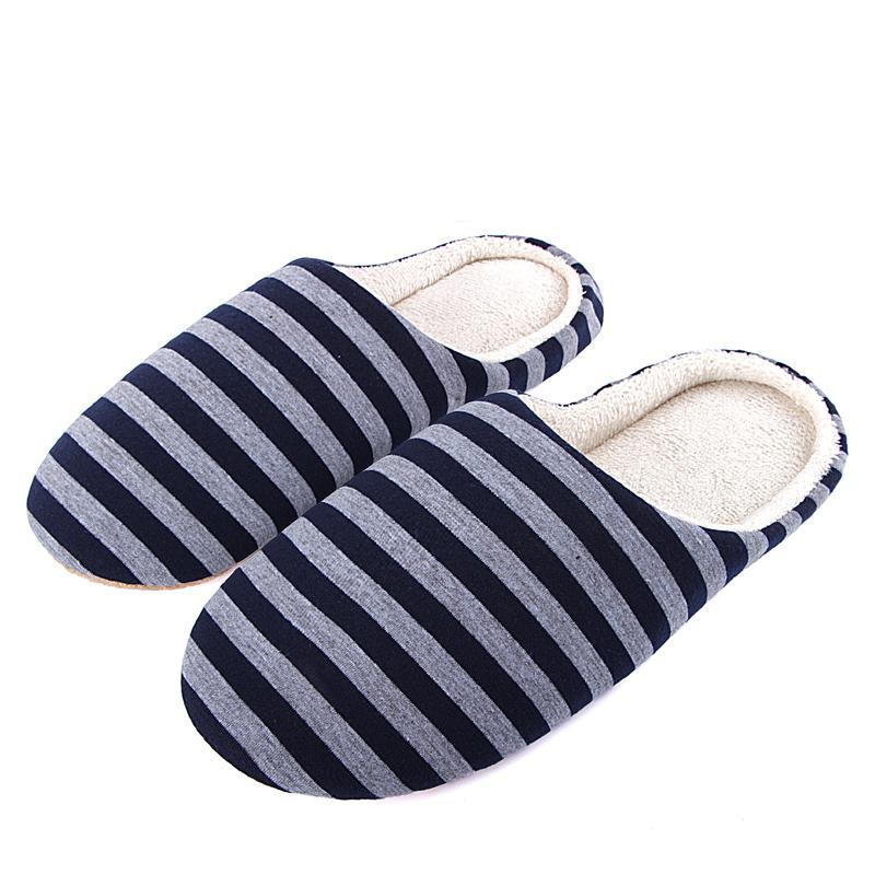 Men's Casual Striped Home Slippers