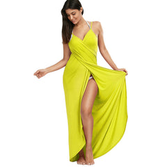 Women's Full Length Beach Wrap Swimwear Cover Up