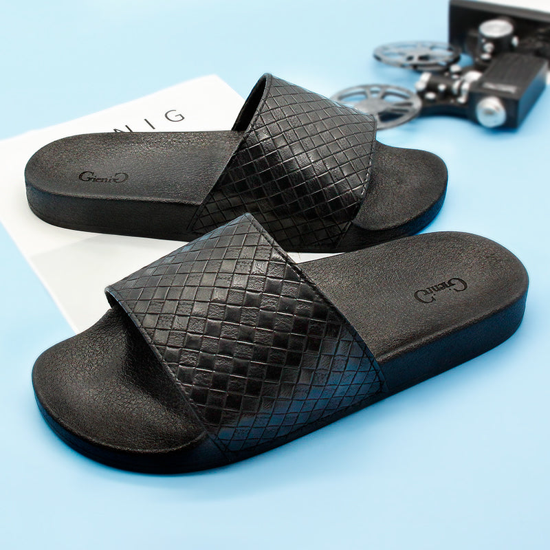 Men's Rubber Slip-On Sandals