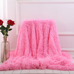 Super Shaggy Faux Fur Blanket
