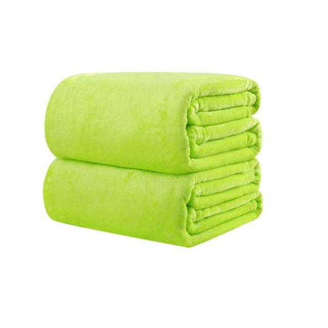 Super Soft Micro Plush Fleece Blanket Throws