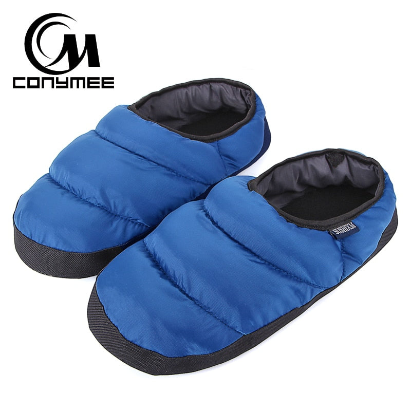 Men's Down Winter Slippers