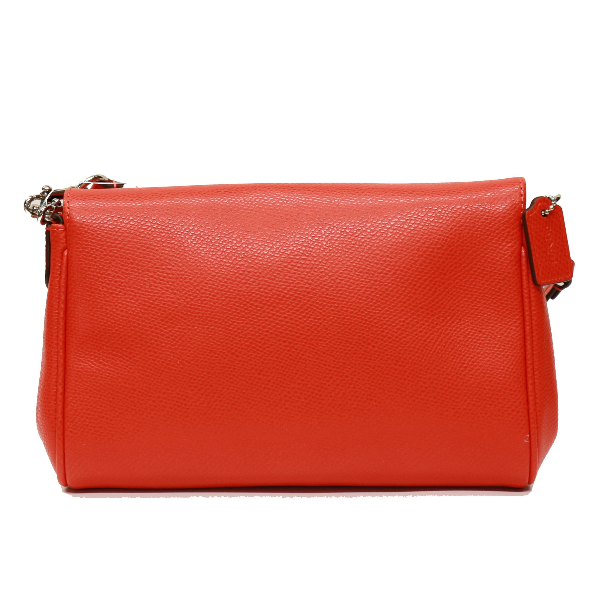 c9159f8ff Coach F34604 Crossgrain Leather Mini Ruby Crossbody -Orange – unic-star