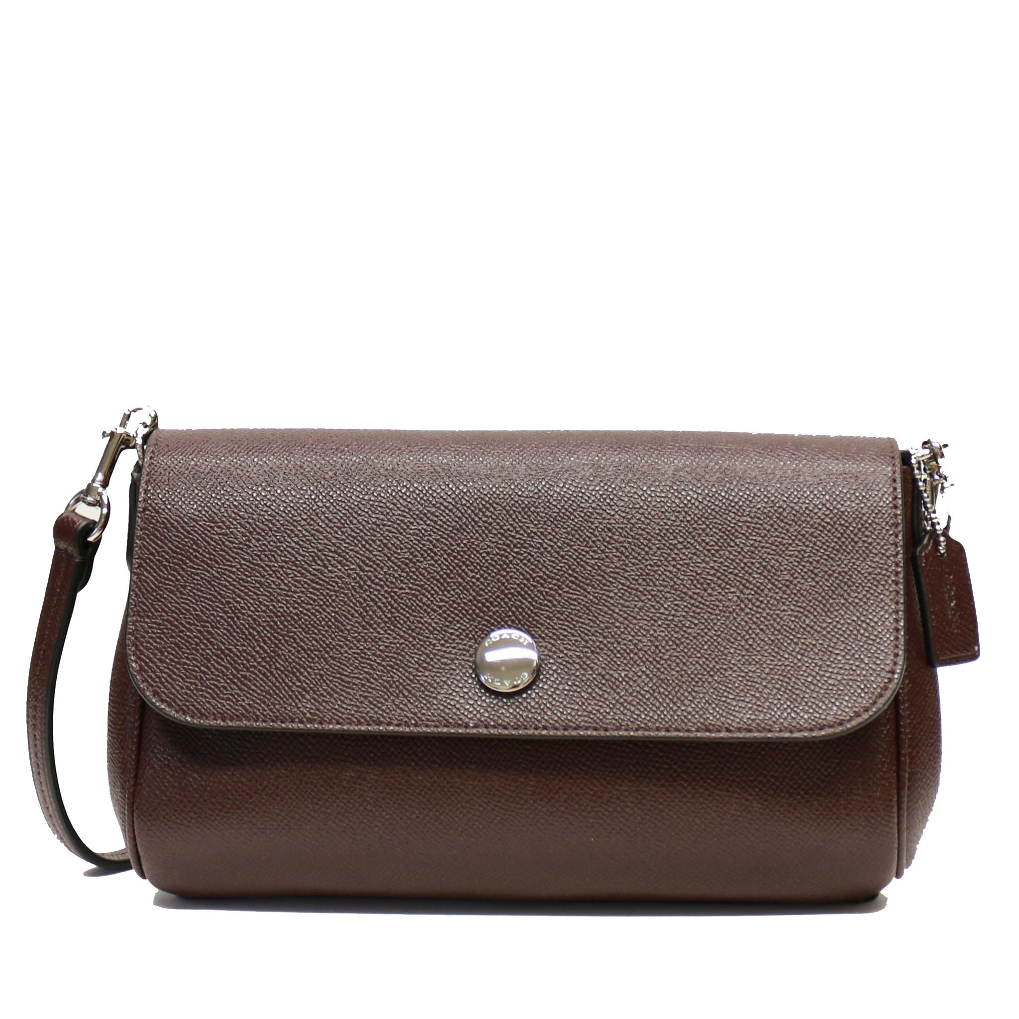 18a6ac4c809c7 ... promo code for coach f12106 crossgrain leather reversible ruby  crossbody bag oxblood nude pink d5d1c 627a0