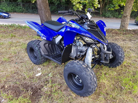 2021 Yamaha Raptor Yfm 90R Racing Blue