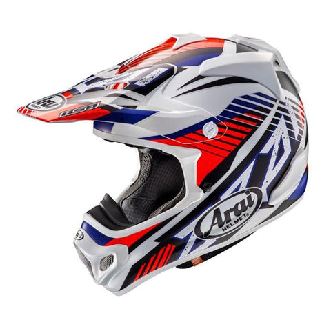 ARAI MX-V SLASH RED HELMET