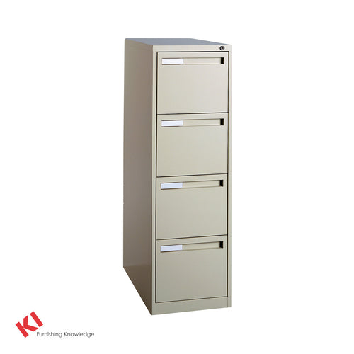 700 Series Vertical Filing Cabinet - 4 Drawer