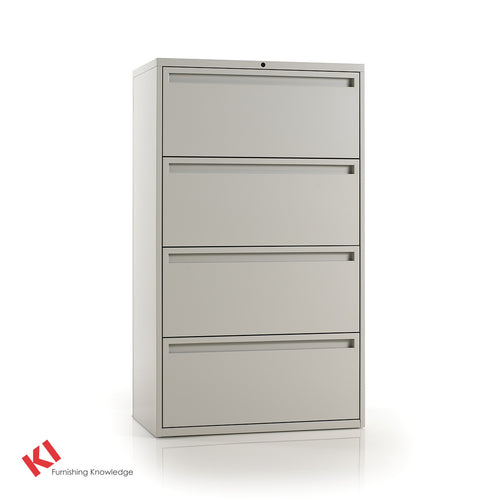 700 Series Lateral File Cabinet - 4 Drawer