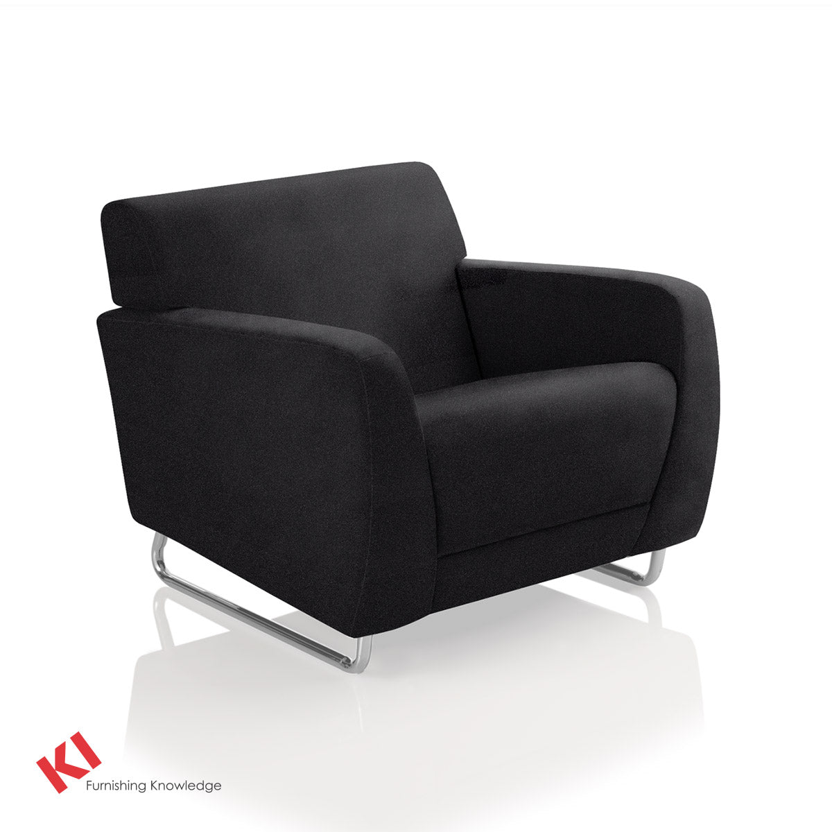 Sela Lounge Chair Black