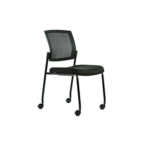 Dune Mesh Back Stacking Guest Chair Without Arms
