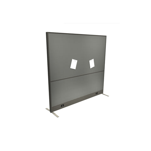 Plexiglass Desk Mounted Privacy Panel