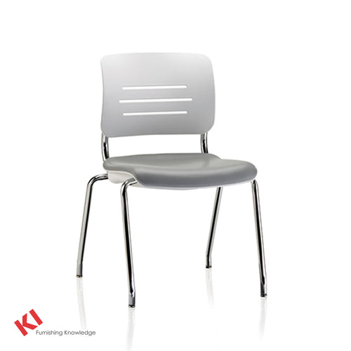 KI Grazie Four Leg Armless chair