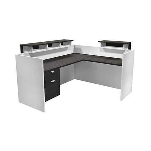 Innovations Modern L-Shaped Reception Desk