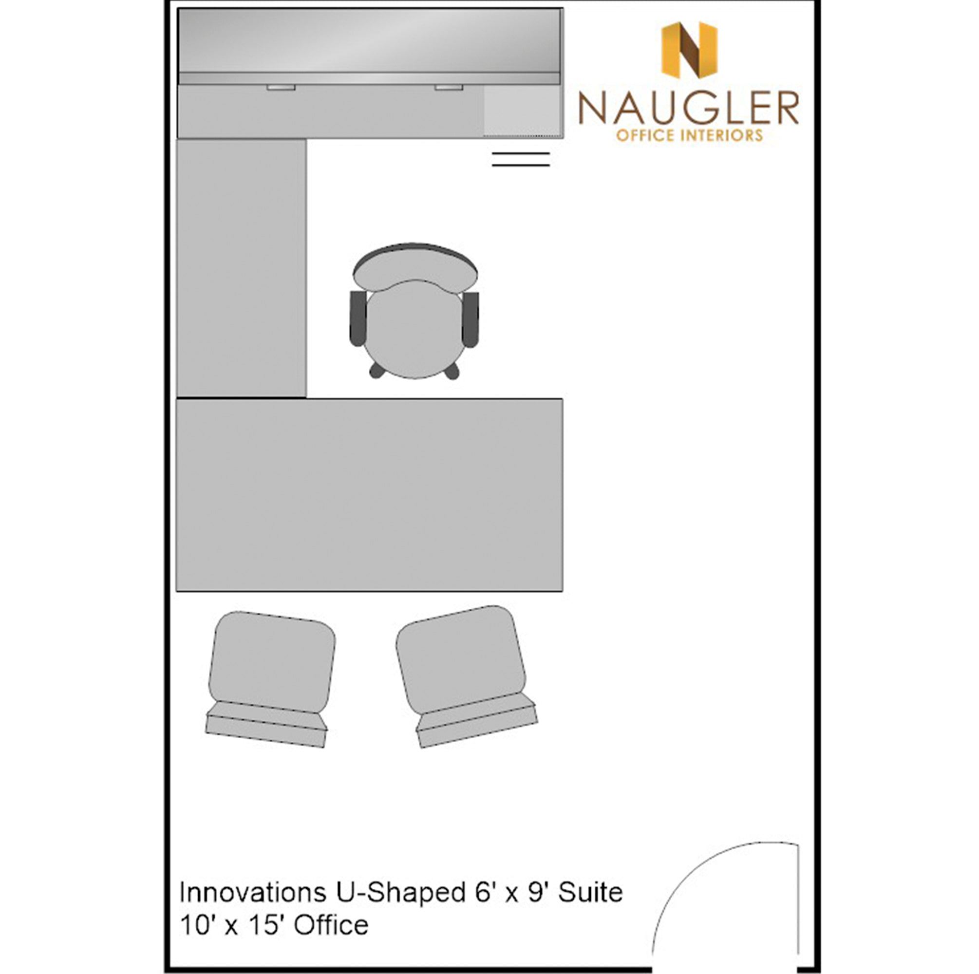 Innovations U-Shaped 6' x 9' Suite