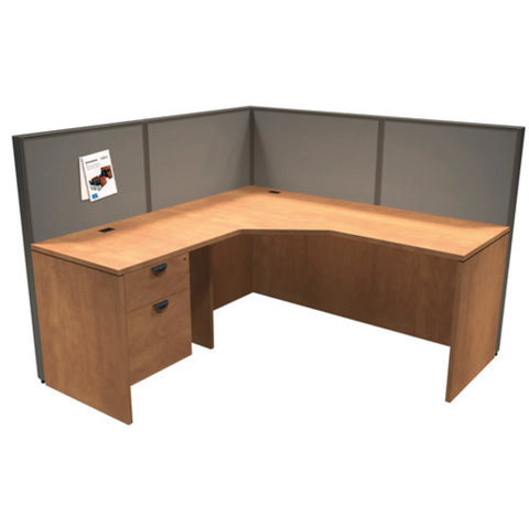 Titan L-Shaped Desk