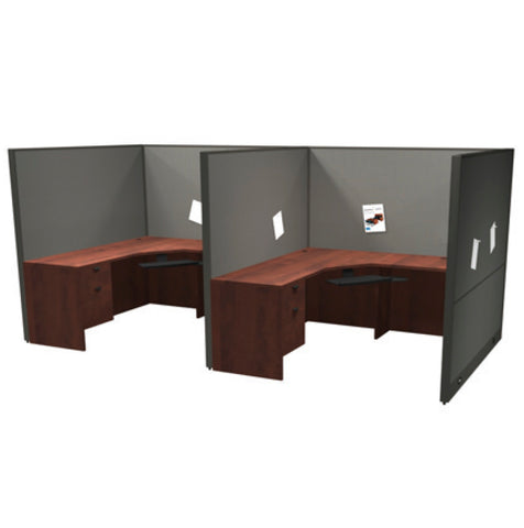 "Framework Hotelling/Touchdown Workstation Pod - ""Layout 4"""