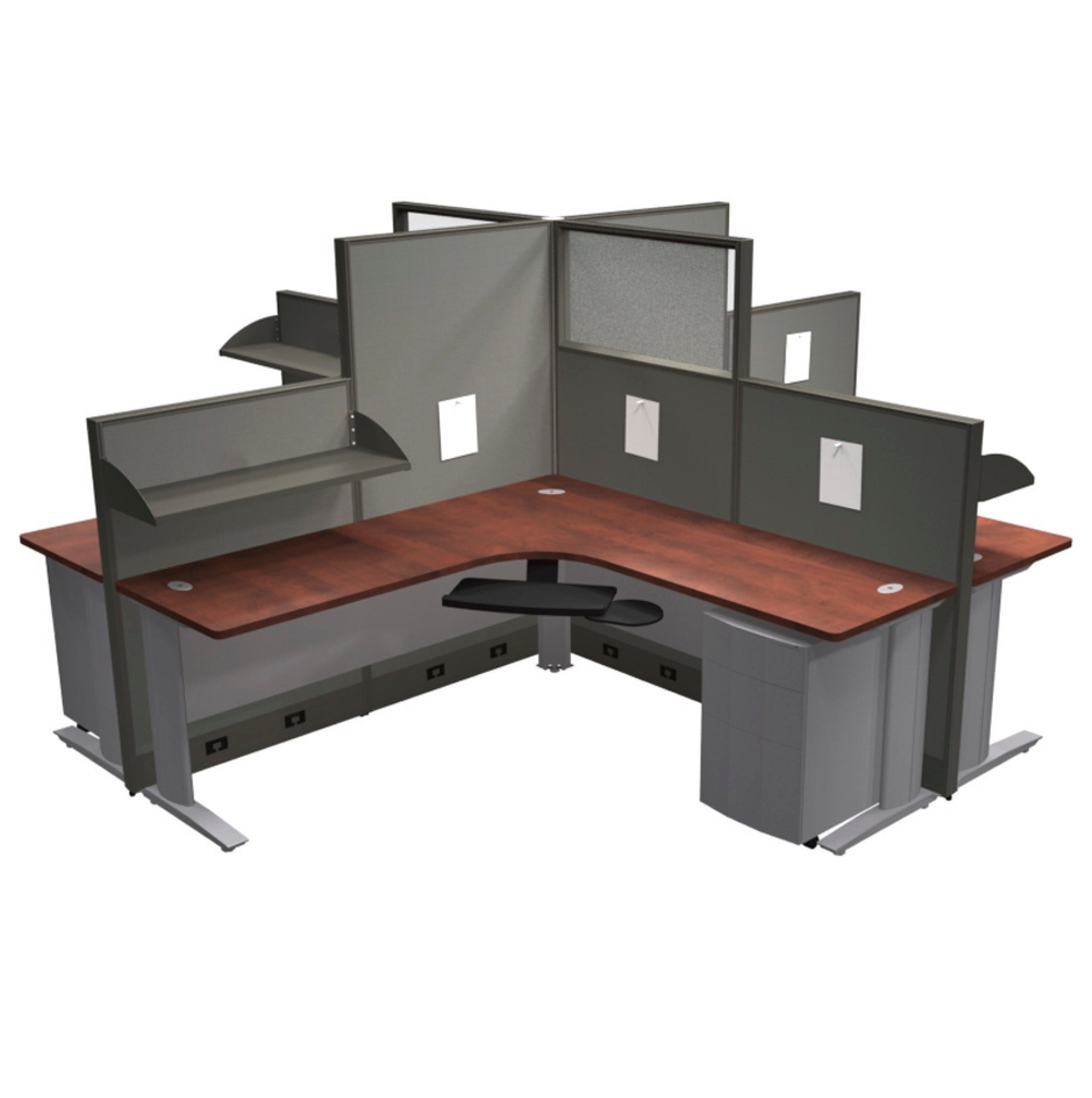 "Framework Workstation 4-Pod - ""Layout 9"""