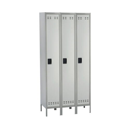 Single Tier Storage Lockers - 3 Column