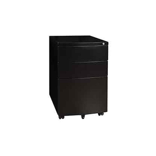 Black Titan 3 Drawer Mobile Pedestal