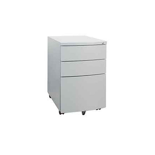 Titanium Titan 3 Drawer Mobile Pedestal
