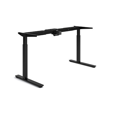 Black Olympus Height Adjustable Desk