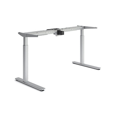 Silver Olympus Height Adjustable Desk