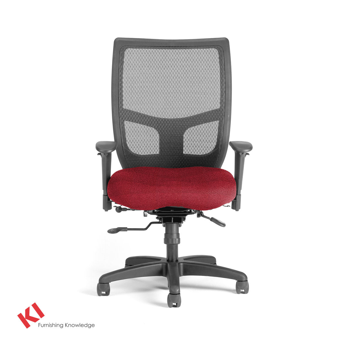 KI Impress Ultra Mid Back Task Chair Red Pepper