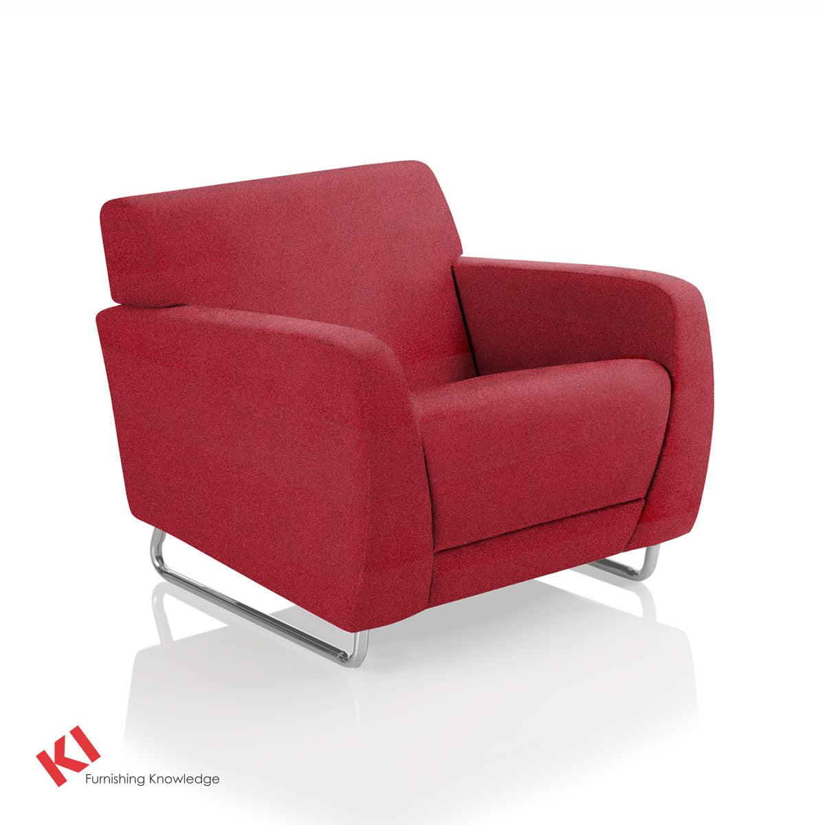 Sela Lounge Chair Red Pepper