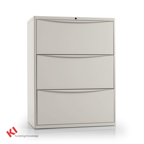 700 Series Lateral File Cabinet - 3 Drawer