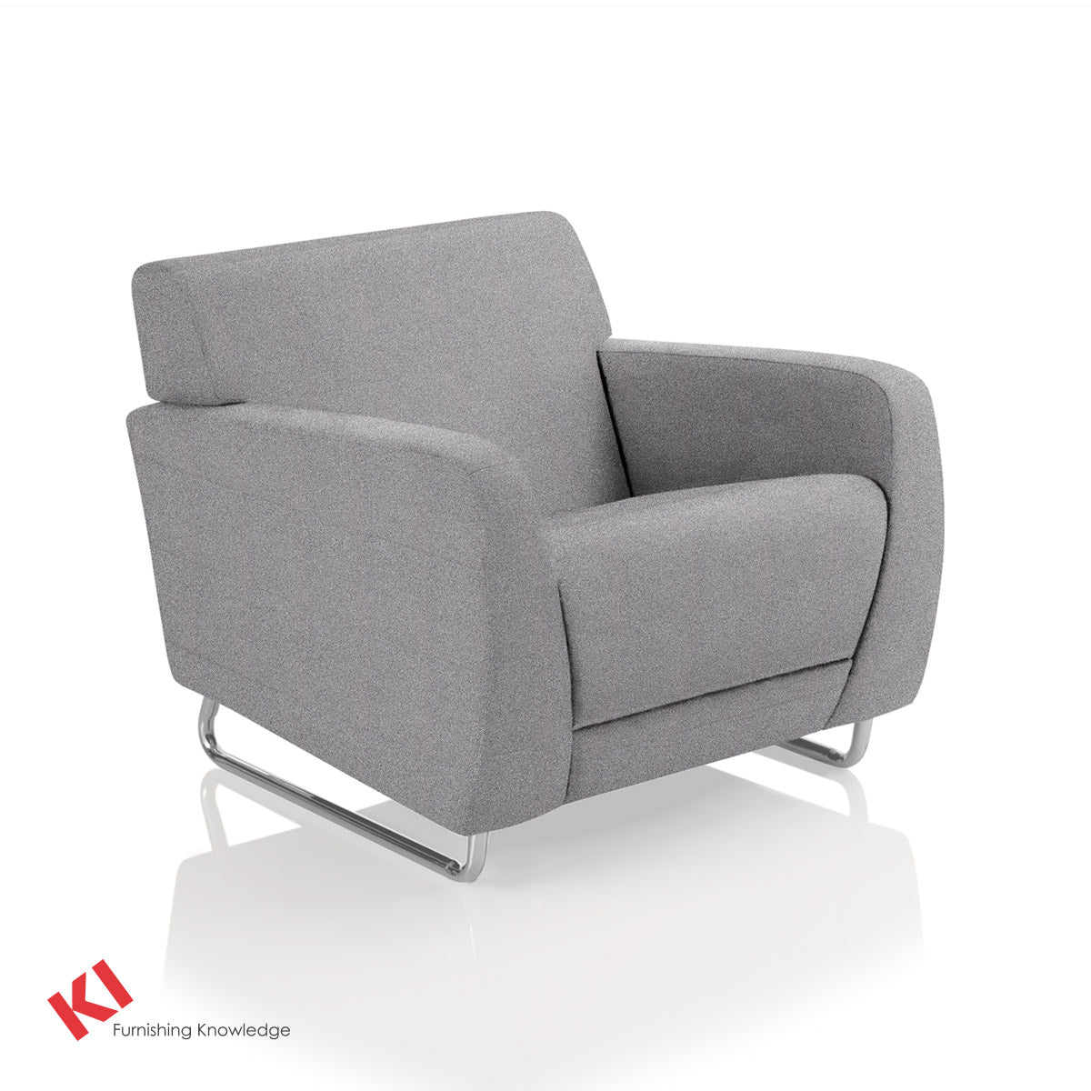 Sela Lounge Chair Sterling